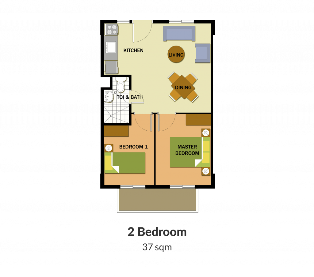 Northpoint Building 1 2 Bedroom