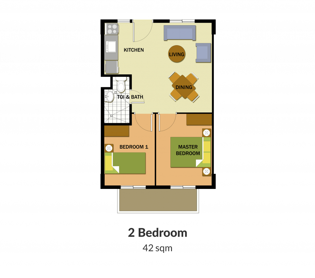 Northpoint Building 2 2 Bedroom