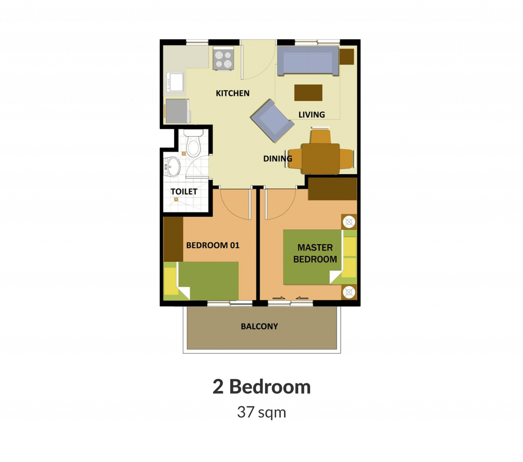 Northpoint Building 3 2 Bedroom