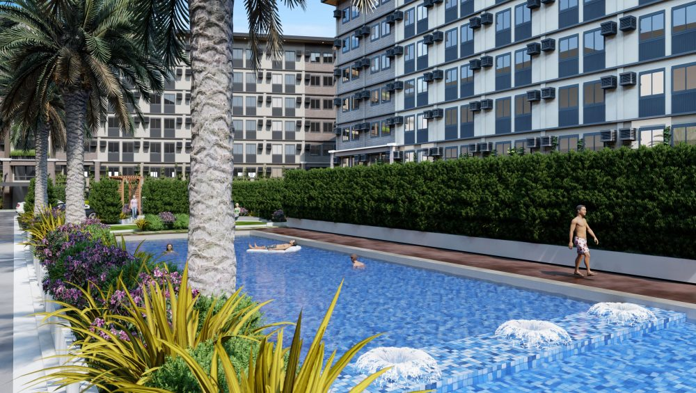 Affordable Bacolod Condo - Pool Amenity