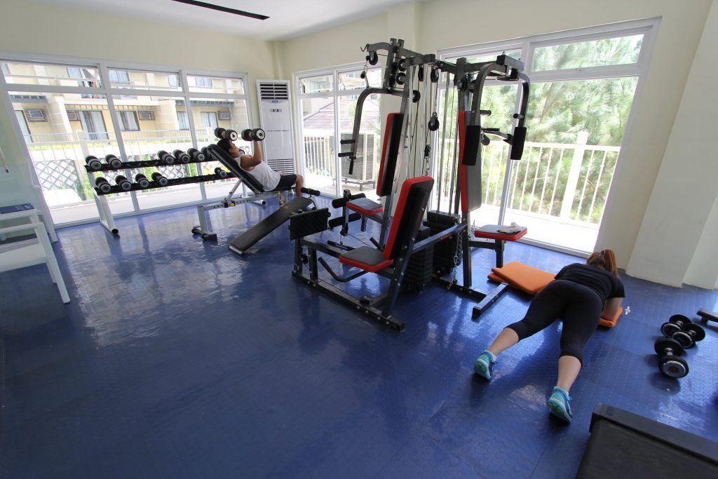 Affordable Condo in Davao - Northpoint Davao - Camella Manors - Fitness Gym Amenity in a Condo