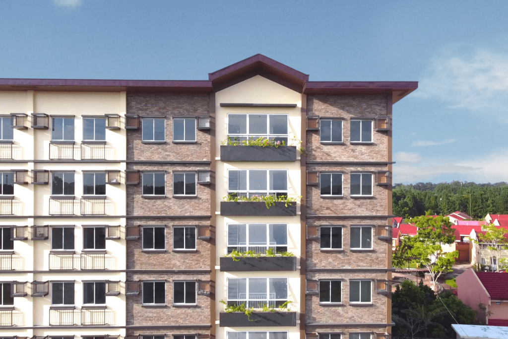 RFO Condo in Bacolod - Camella Manors Bacolod - Building Facade