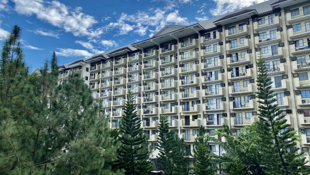 RFO Condo in Davao - Northpoint Davao - Camella Manors - Building Perspective in a pine-filled community