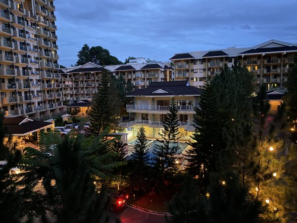 RFO Condo in Davao - Northpoint Davao - Camella Manors - Community Perspective (Night View)