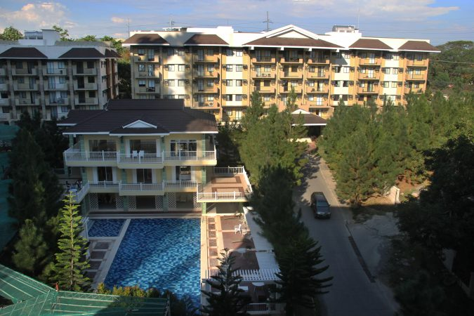 RFO Condo in Davao - Northpoint Davao - Camella Manors - Community Perspective with Swimming Pool Amenity