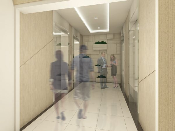 Condo for Sale in Cagayan de Oro - Hallway Perspective at the Loop Towers