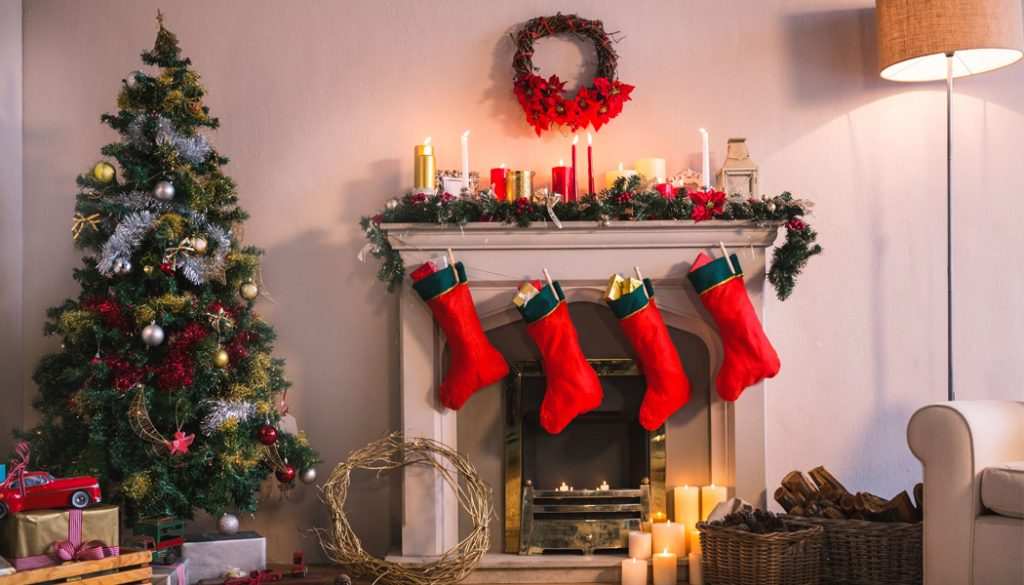 Decorating Your Condo This Christmas with Lanterns and Socks