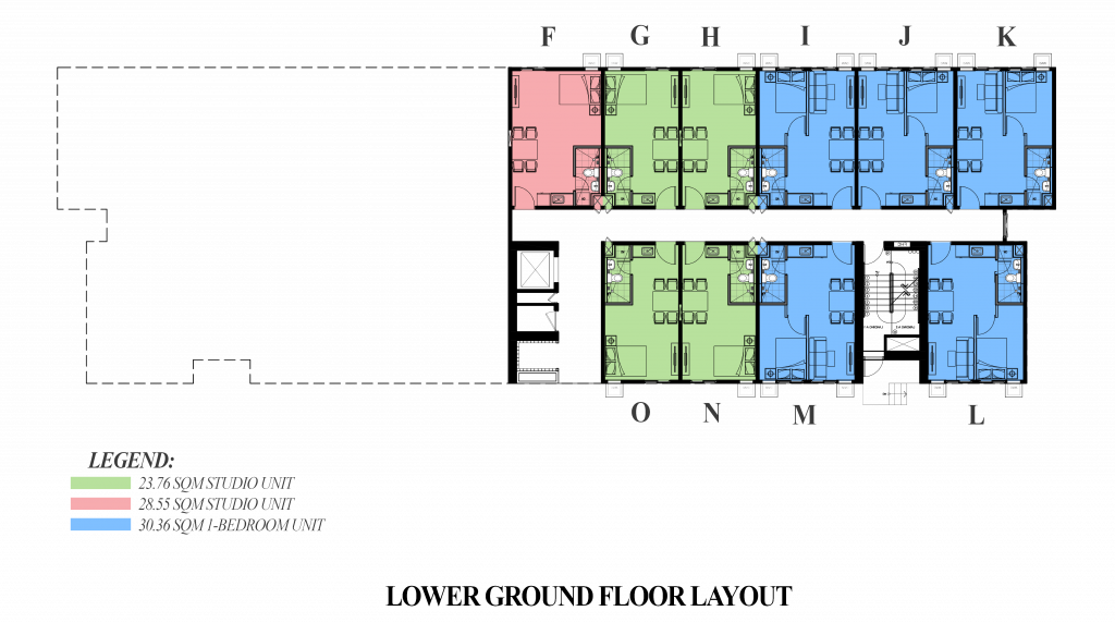 Camella Manors Frontera Lower Ground Floor Layout