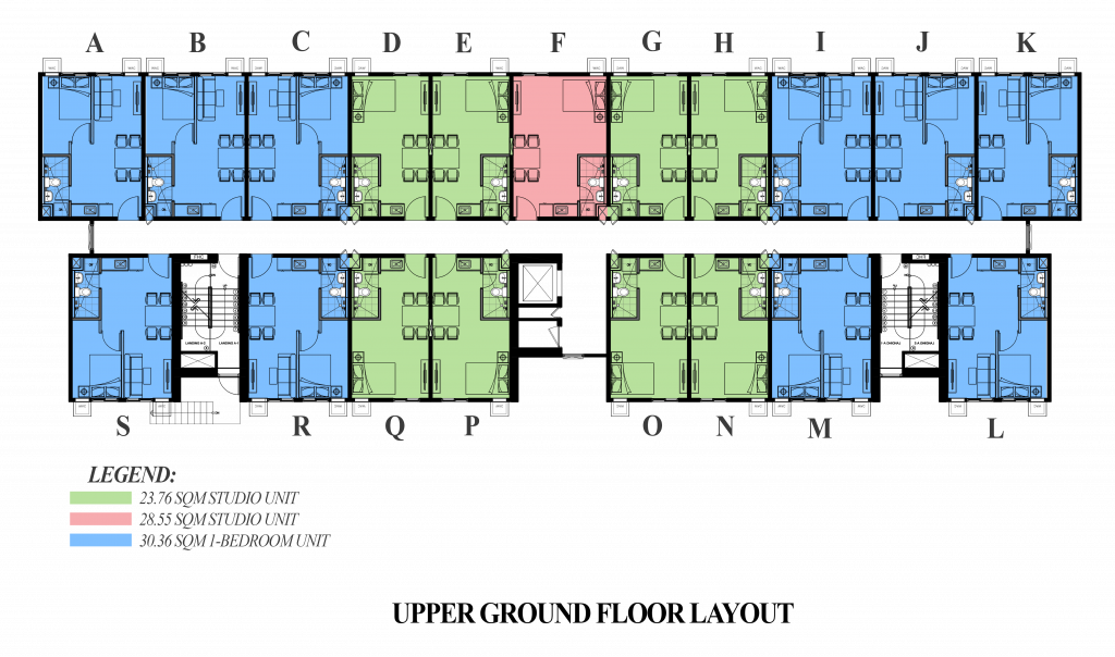 Camella Manors Frontera Upper Ground Floor Layout