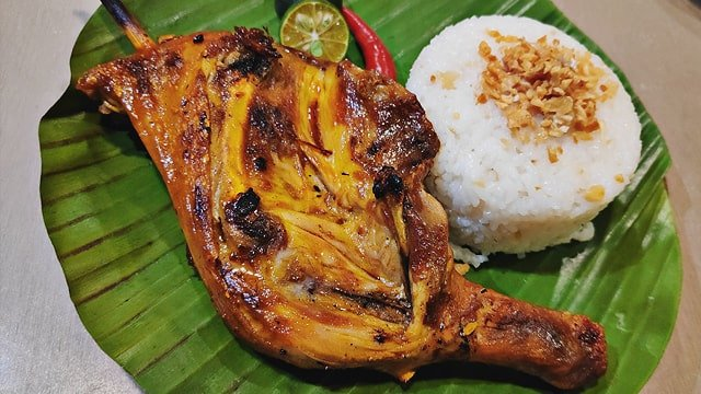 Famous Chicken Inasal in Bacolod