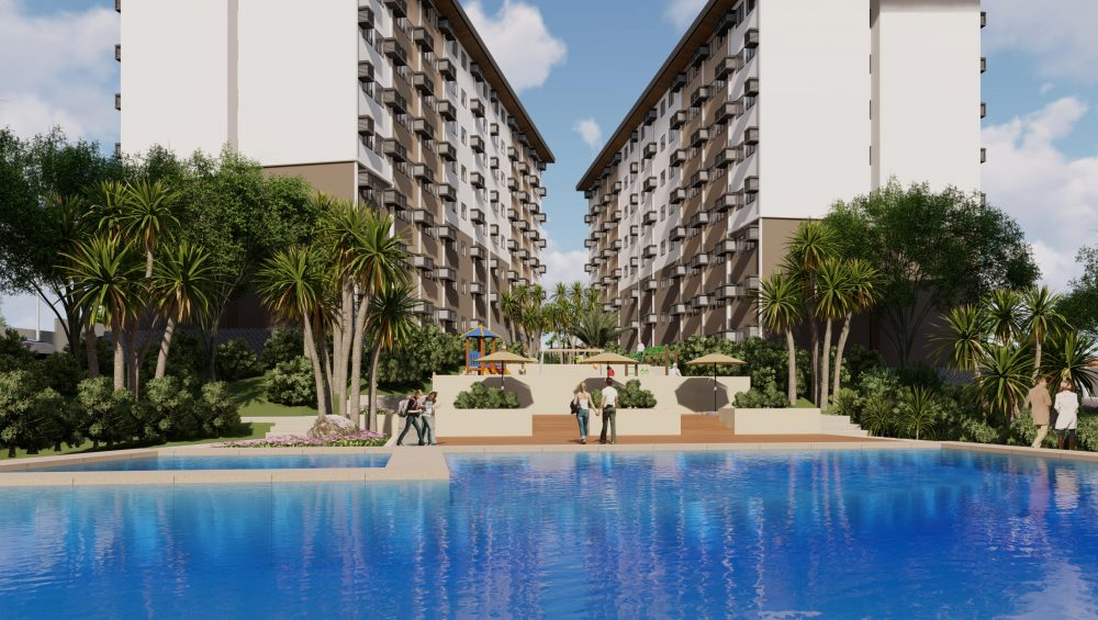Mid-rise Resort-style Condo in the Philippines