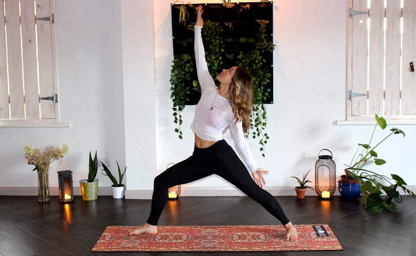 Yoga Exercise   Camella Manors   Indoor Fitness