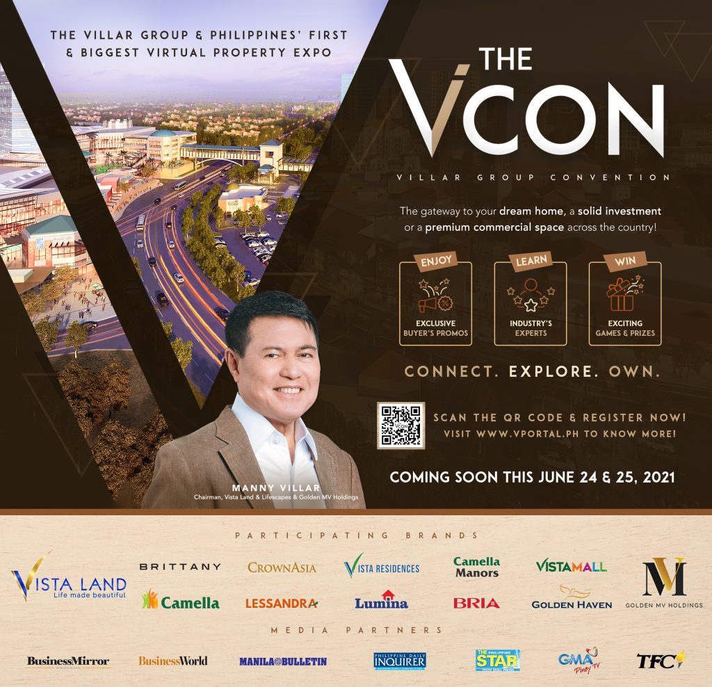 Biggest Virtual Property Expo in the Philippines - ViCon - Camella Manors - Affordable Condo Philippines