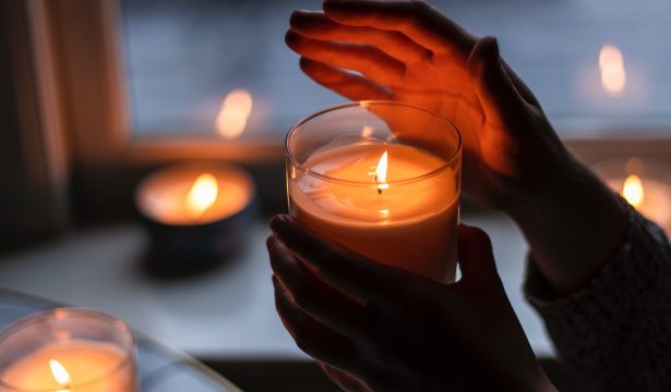 light a scented candle - make your home smell good - camella manors