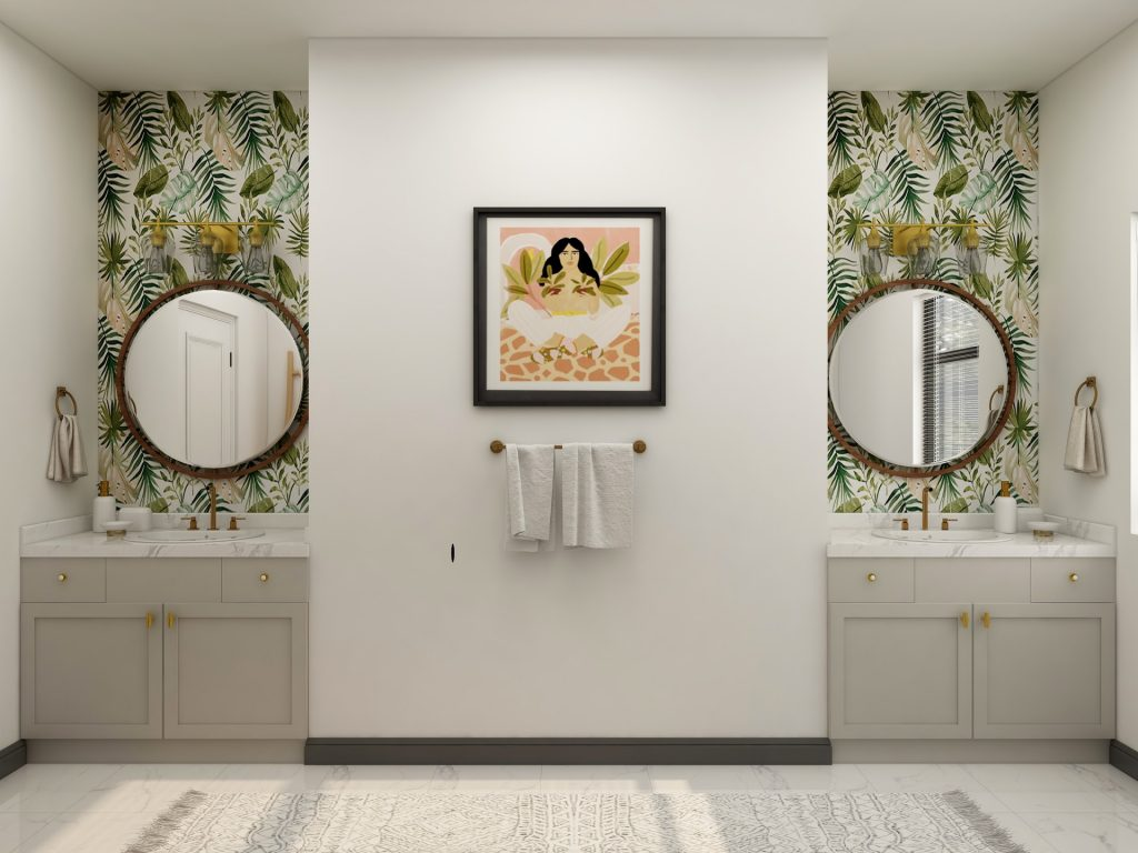 wallpaper for homes - camella manors