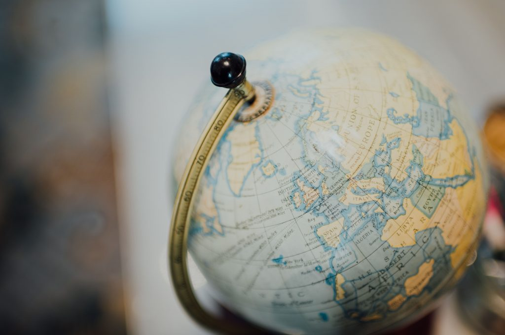 Display a Vintage and Classy Globe | Condo Interior for travelers | Camella Manors