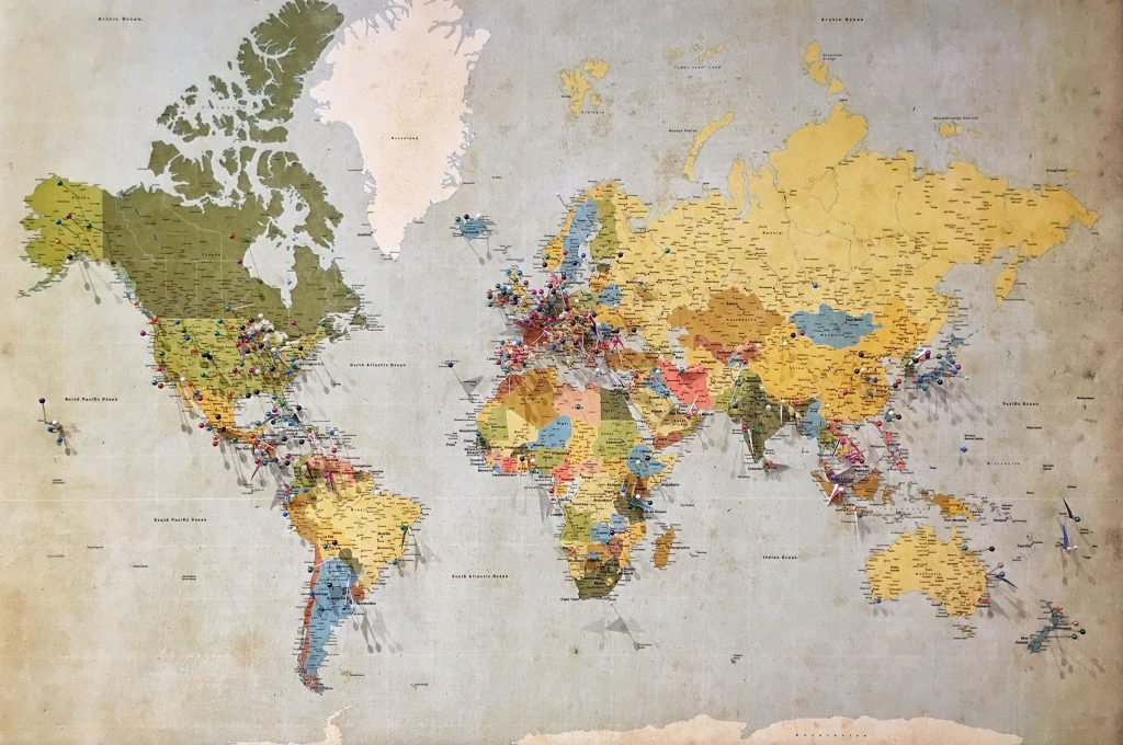 Hang Up a Map on your Wall | Condo Interior for Travelers | Camella Manors