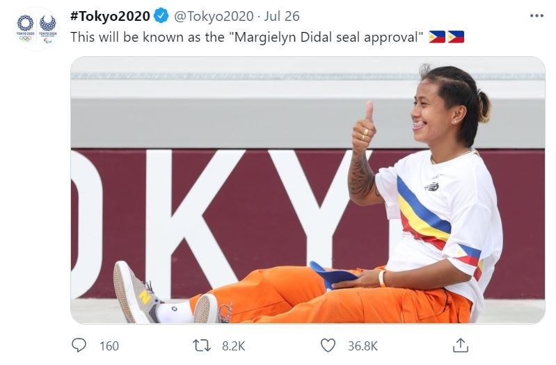 Margielyn Didal - Filipina Athlete Skateboarding in Tokyo Olympics 2021 - Seal of Approval