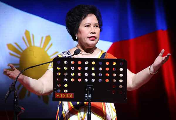 Miriam Defensor Santiago - Photo from Philippine Lifestyle News - Filipina Athletes and Others who made history - Condo in the Philippines - Camella Manors