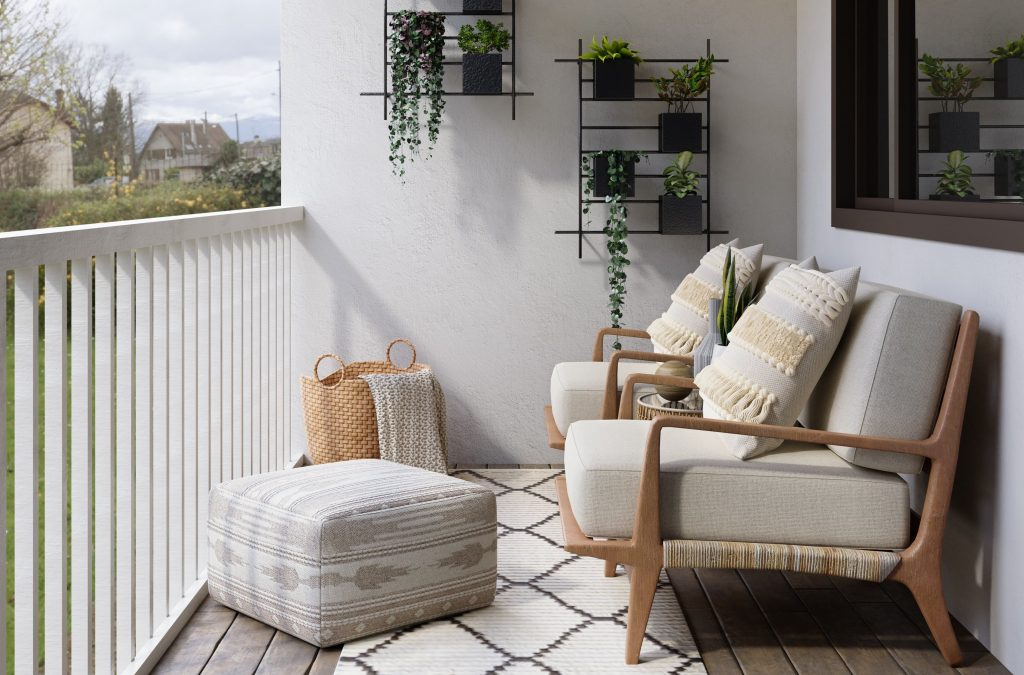 Mix and Match Styles in your Balcony | Ways to Design your Condo Balcony | Camella Manors