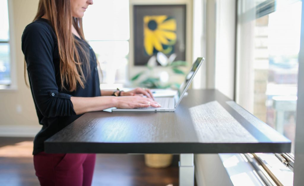 Standing Table for Work From Home Productivity | Work from home Essentials