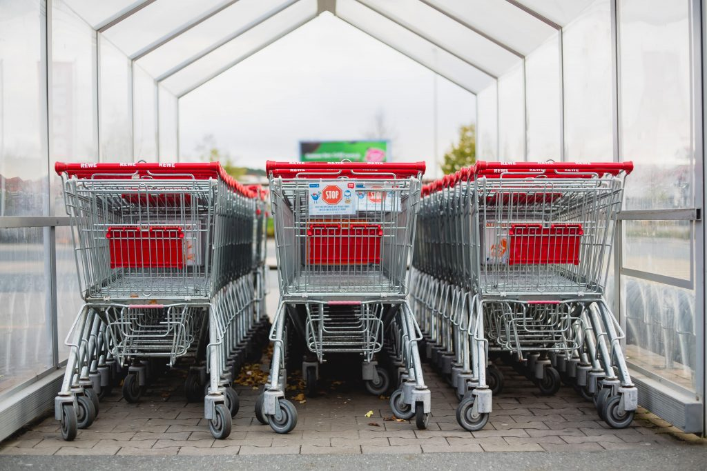 No More Push Carts in Grocery Shopping Apps
