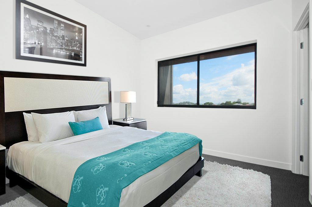 Use Cheerful Colors Inside the Small Bedroom